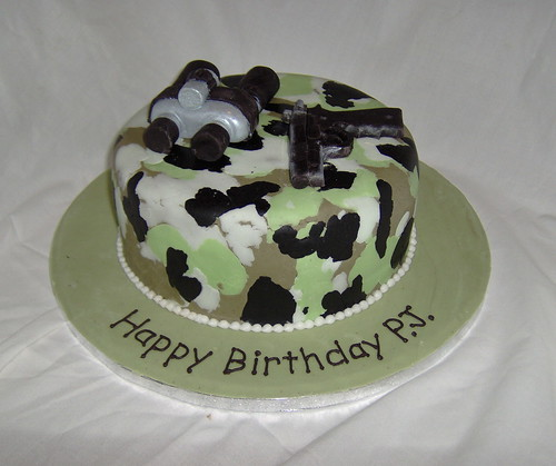 PJ's army cake