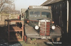 Surplus to requirements (Lady Wulfrun) Tags: bus green abandoned truck bedford nose control o great bull motors lorry cannock type service normal staffordshire derelict gbs staffs warstone wyrley