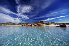 Therapy (LucaPicciau) Tags: sardegna blue sea summer sky holiday clouds island mare sardinia blu cielo lp therapy transparent isola terapia granito gallura i
