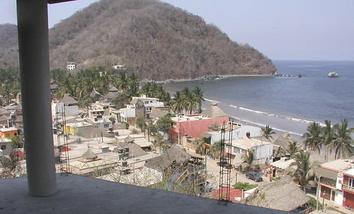 Bay in front of La Manzanilla
