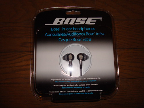 bose in-ear headphone