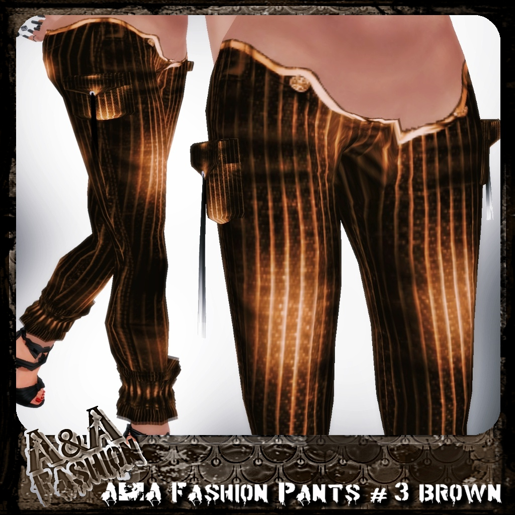 A&A Fashion Pants #3 Brown