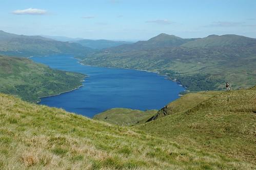 Loch Katrine from Maol Mor