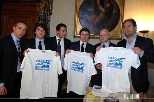 Incontro privato con il padre di Gilad Shalit