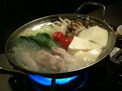 鍋ランチ(六本木)でスタミナ鍋なう