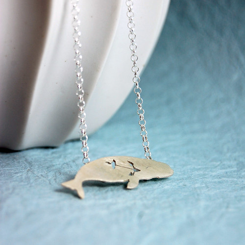 cute beluga whale pictures. Sterling Silver Beluga Whale