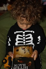 Atticus Klein wonders which is scarier, reality TV or skeltons?