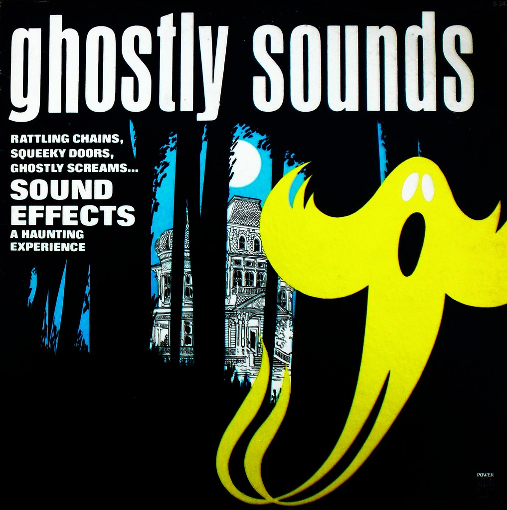 Ghostly Sounds front cover