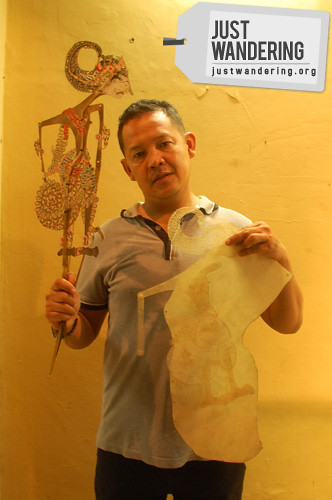 Adi and his Wayang