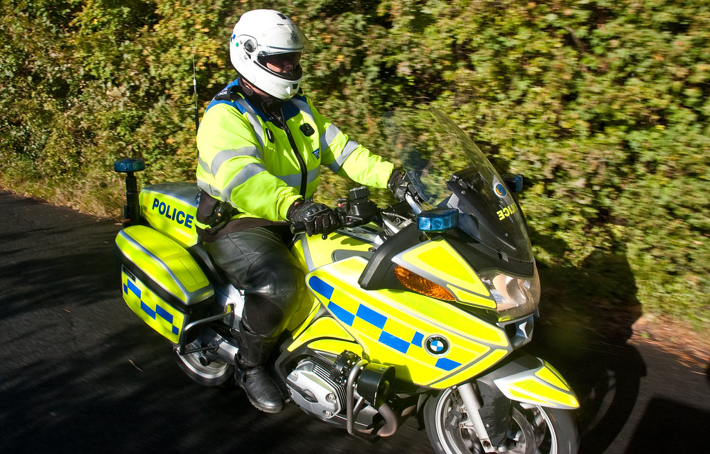 Sussex Police BMW