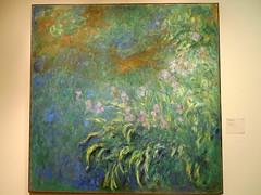 Claude Monet Iris (Thank You 7.5 Million Visitors!) Tags: iris chicago artinstitute claudemonet chicagoil artwor claudemonetiris