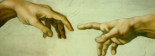 Michelangelo-creation-hands