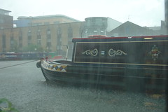 London Canal Museum in the rain #1