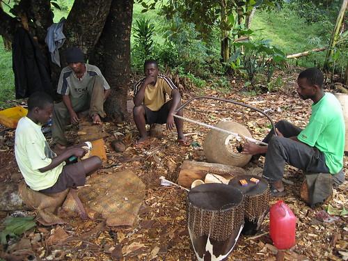 Uganda - Roadside Royal Drum Makers of Uganda