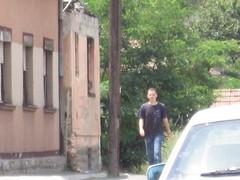 Passing by (bytycci) Tags: house kosova kosovo mitrovica