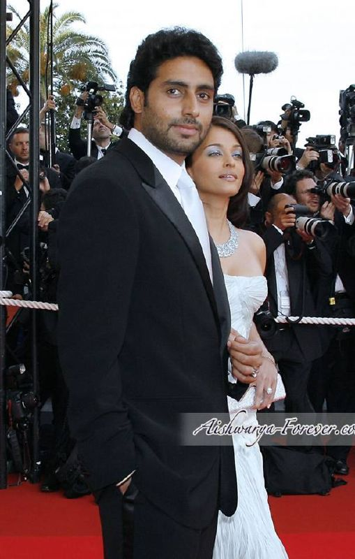 Photo Aishwarya Rai & Abhishek Bachchan at Cannes Film Festival