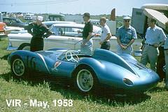 Legendary Scarab to Return to VIR (Race Fan) Tags: road les virginia ferrari josh international shelby carroll jaguar races maserati lief scarab raceway vir nance