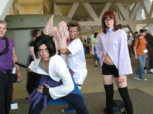 Sasuke, Jugo, Karin