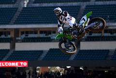 James Bubba Stewart (jhuffmanPhotography) Tags: jump nikon 7 fox motorcycle bubba dirtbike practice motocross mx bigair supercross kawasaki jamesstewart motox 80200mm sx triplejump 4stroke monsterenergy anaheimcalifornia d80 kfx450