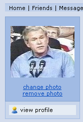 Bush Passfoto