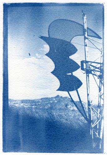 Cyanotype Utah Desert  2006