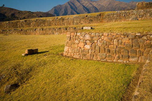 Inca Wall Remains in Chinchero