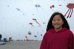 The Child at the Kite Festival
