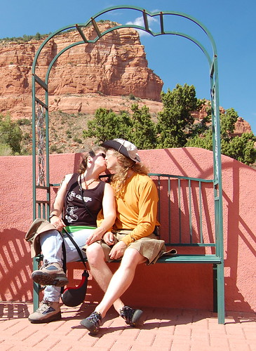 Smoochin' in Sedona