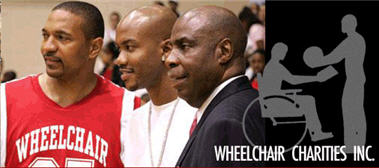 Wheelchair Chairities - Banner