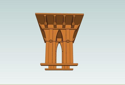 Column End View