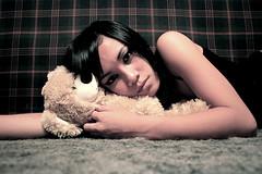 childhood (mariacaridad) Tags: bear portrait childhood toy teddy maria filipino pinay selfphoto pinoy champ buildabear caridad ilocano visayan aplusphoto riyah devoshun