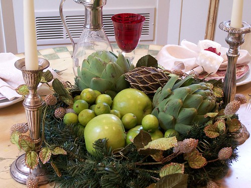 Easy organic centerpieces