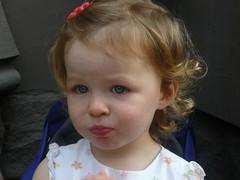 charlotte eats a lemon (alist) Tags: baby girl boston toddler alist robison bostonmass charlottelasky cassiecleverly alicerobison kerriekephart ajrobison charlottehaydenlasky ericlasky