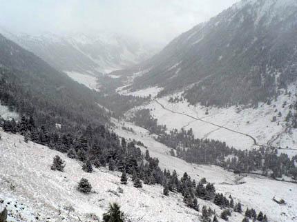 Primera nevada 2007-2008