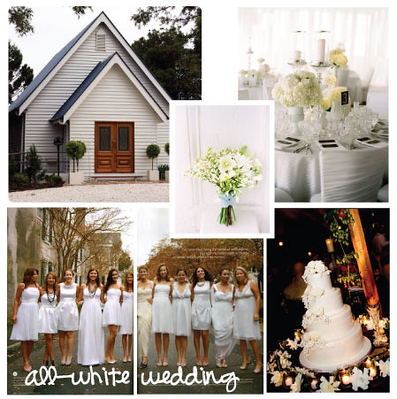 all-white-wedding