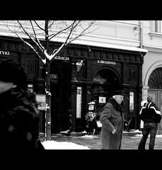 Cracow at morning (Silvio Maria Marcelo) Tags: morning snow cold canon eos poland neve cracow ristorante freddo cracovia mattina restauracja