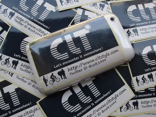 CLT° NEW STICKER