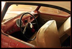 Hudson Metropolitan (Nash) (the Gallopping Geezer 2.1 million + views....) Tags: classic car vintage automobile michigan interior detroit historic hudson nash metropolitan steeringwheel geezer downriver