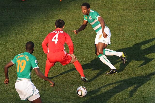 Costa de Marfil versus Corea Mundial Fútbol