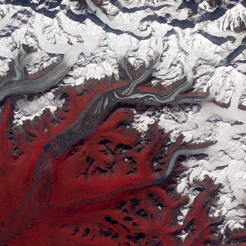 Susitna Glacier, Alaska by NASA Goddard Photo and Video, on Flickr