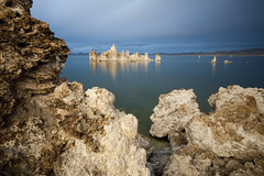 evening at mono lake (mewtate) Tags: california me wideangle monolake easternsierra tufas slowwater mewtate amymew singhrayvarind