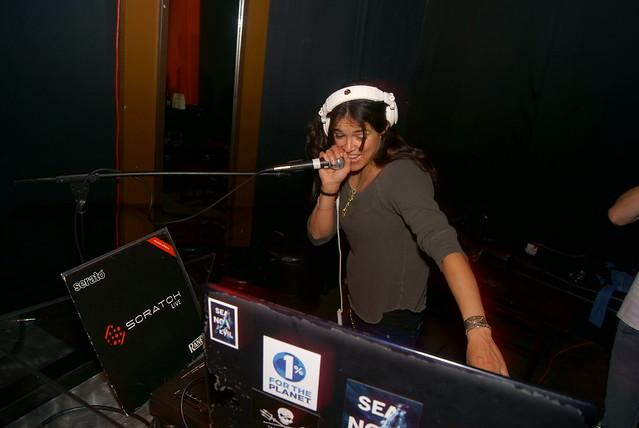 DJ Michelle Rodriguez at Beso Cantina by MarkScottAustinTX