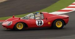 Ferrari Dino 206s (nick147) Tags: dino ferrari silverstoneclassic historicracing classicracingcars dino206s