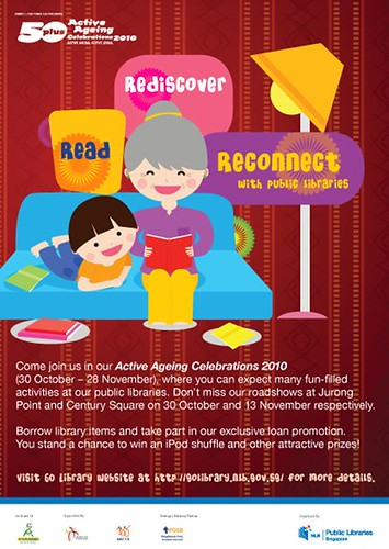Active Ageing Carnival 2010 Flyer - Public Libraries Read Rediscover Reconnect