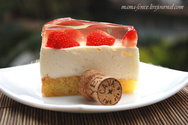 Торт-мусс-желе