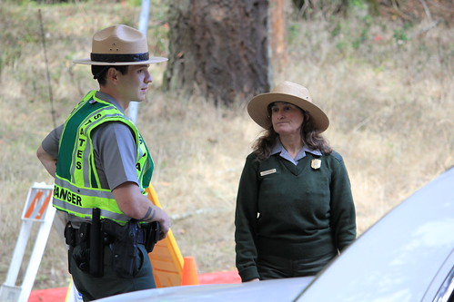 Park Rangers are doing their job by daveynin on Flickr