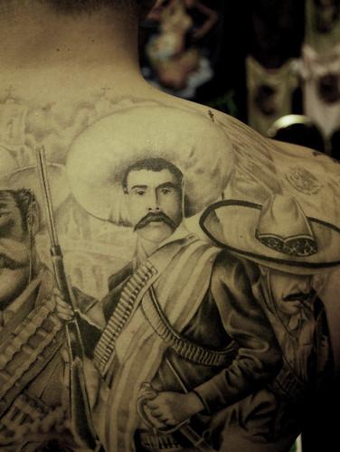 Kenyon Martin Lips Tattoo Gang tattoos � from upper left