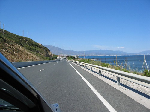 Driving to Gibraltar.. on the right-hand side!