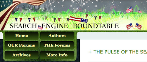 July 4th Theme for Search Engine Roundtable