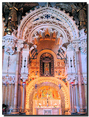 The Lady Chapel / El Camarn de la Virgen (. SantiMB .) Tags: barcelona espaa mountain abbey spain chapel catalonia holy virgin monastery montserrat catalunya montaa soe virgen monasterio abada bages sagrado capilla golddragon mywinners artlibre anawesomeshot colorphotoaward isawyoufirst travelerphotos firsttheearth camarn